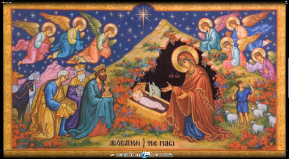 Open On Christmas Eve Part I >> Diocese of New York-New Jersey - CHRIST IS BORN! LET US GLORIFY HIM!